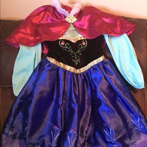 Disney Collection Frozen Anna Dress Up Costume